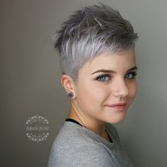 "463 Likes, 21 Comments - Pamela Payne (@pamelapaynehairart) on Instagram: ""Happy Sunday to all the #pixie people in the world."""