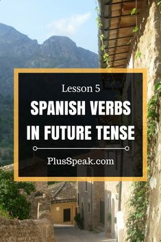 Lesson 5: Learn Spanish verbs, conjugation in future tense. Spanish language lessons, grammar, for beginner, for free, tips & hints #learningspanishlanguage #spanishlessontips #spanishconjugation