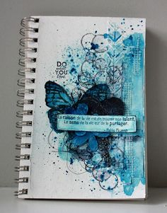 Magenta: Art Journal / Do What You Love - Art Journal Page