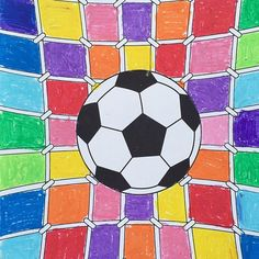 Art and football for the kids :-) #football #euro2016