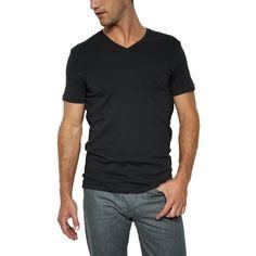 Levis Doppelpack V-Neck T-Shirts Levis Black/Black