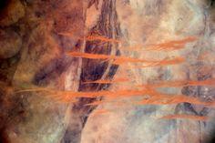 Les magnifiques cartes postales de Thomas Pesquet | Slate.fr   Le nord-est de la Mauritanie prend la pose, le temps d'une oeuvre d'art, le 4 février 2017.  Crédit : Thomas Pesquet / ESA/NASA