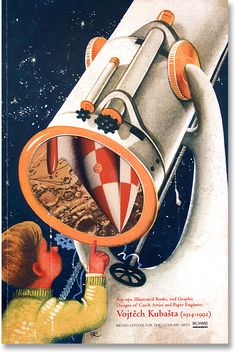 Pop Up book,illustrated V.Kubašta, Czechoslovakia