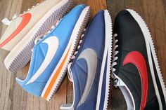 Nike Cortez = an old school way to jog the streets