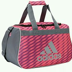 Adidas Duffel Bag This Is Considered Small Dimensions Are 18 5 X 11 10 Has Two Top Handles And Adjule Shoulder Strap Bags Travel