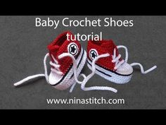 Baby Converse Crochet Pattern How To Crochet My Easy New Born Ba Converse Style Slippers Baby Converse Crochet Pattern Ba Converse Booties Free Crochet Pattern And Tutorial Your Crochet. Baby Converse Crochet Pattern How To Crochet My Easy. Crochet Converse, Crochet Baby Booties, Crochet Slippers, Baby Blanket Crochet, Baby Converse Shoes, Baby Sneakers, Converse Sneakers, Converse Style, Adidas Shoes