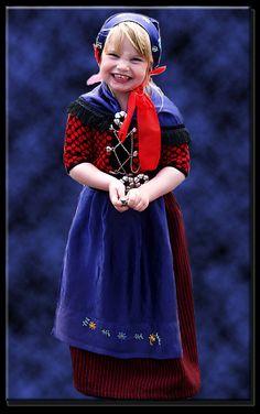 Girl in traditional costume -Faroe Islands