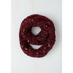Good Night, Swoon Circle Scarf (£13) ❤ liked on Polyvore featuring accessories, scarves, red, winter scarf, red shawl, tube scarves, infinity loop scarves, red infinity scarves and loop scarves