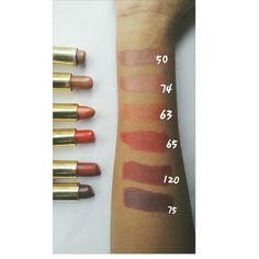 Golden rose lipsticks review. Affordable drugstore product.