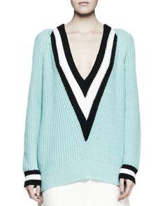 Pin for Later: Vous avez envie de vous acheter le même pull que Jaime King ?  On l'aime aussi beaucoup en vert pastel ($395).