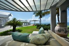 Baie Rouge, St Martin St Maarten With private beach area & gourmet chef! Driving up to this spectacular property alerts you to the fact that you are about to experience something very special indeed.