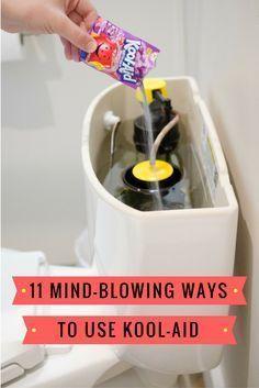 Why Kool-Aid also belongs in your bathroom...