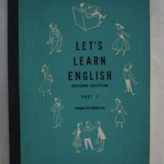 Learn English, Let It Be, Learning, Cover, Books, Old Books, Learning English, Libros, Studying