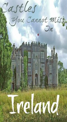 9 castles you cannot miss in Ireland. Of course, you'll find many others along the way, some in ruins, some on private property and some abandoned. Take them all in and just enjoy being in Ireland, there is no better place on earth to indulge in your cast Dublin, Places To Travel, Travel Destinations, Places To Go, Travel Tips, Budget Travel, Cheap Travel, Travel Hacks, Travel Ideas