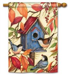 Magnet Works House Flag   Welcome Neighbors Decorative Flag At Garden House  Flag
