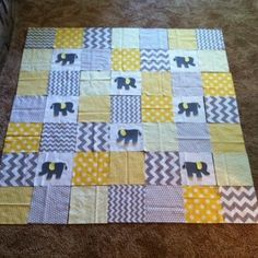 Zomberg Baby Quilt by Meggiejoy on Threadbias