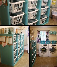 Does your laundry room require some organizing? Will this laundry basket dresser help?  If you like this, you'll find heaps of similar ideas at http://theownerbuildernetwork.com.au/laundries/  If you've done a similar project, share it with us by starting an album at http://www.inspiration.theownerbuildernetwork.com.au/