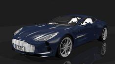 aston martin one-77 detail model 3d model obj fbx blend dae mtl 1