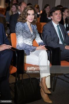 Queen Letizia Of Spain Attends 'Hambre Cero: Es Posible' Course |