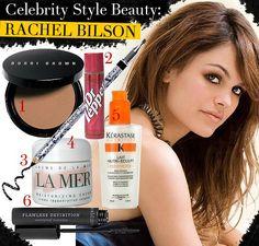 Celebrity Style Beauty: Rachel Bilson