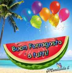 Watermelon, Balloons, Fruit, Gifts, Genere, Photos, Happy New Years Eve, Good Morning