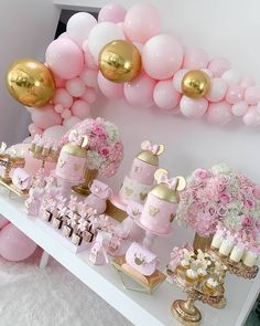 It's a Minnie Mouse celebration 💖 . Minnie Mouse Balloons, Minnie Mouse Cake, American Cookie Company, Birthday Party Decorations, Birthday Parties, Happy Birthday Wishes, First Birthdays, Diy And Crafts, Babe