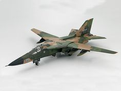 """Hobbymaster 1:72 General Dynamics F-111F Diecast Model Airplane HA3007 General Dynamics F-111F 70-2390 (USAF 48TFW 1991) Diecast Model Airplane. It is made by Hobbymaster and is 1:72 scale (approx. 17cm / 6.7in wingspan). General Background The General Dynamics F-111 """"Aardvark"""" entered service in 1967 as a medium-range aircraft designed for interdiction and tactical strikes. The F-111 was used as an all-weather attack aircraft capable of low-level penetration of enemy territory. It also…"""