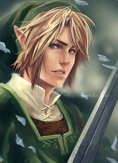 Twilight Princess - Link by Laovaan.deviantart.com on @deviantART