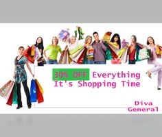 30% #OFF_Everything It's Shopping Time #Jewelerry #Handbags #Shoes #Fashion_accessories #Watches #Cosmetics #Womenshopping #DivaGeneral #Visit_website_today #Exciting_offers  Go for it http://goo.gl/qmi2mP    👈