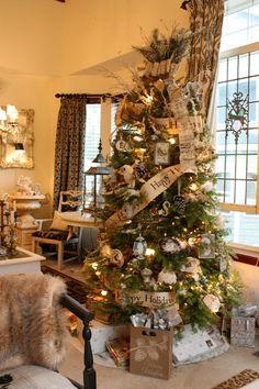 Voici 22 Magnifiques et inspirants sapins de Noël! - Décoration - Des idées de décorations pour votre maison et le bureau - Trucs et Bricolages - Fallait y penser !