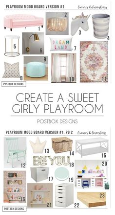The Room I Stole From My Client: A Playroom for the Girls! – Postbox Designs Postbox Designs, Interior E-Design: Girl Playroom Design, Pink Playroom Decor, Kid's Homework & Craft Table, Online Interior Design Kids Bedroom Designs, Playroom Design, Playroom Decor, Kids Room Design, Design Girl, Playroom Ideas, Nursery Decor, Bedroom Ideas, Toddler Playroom