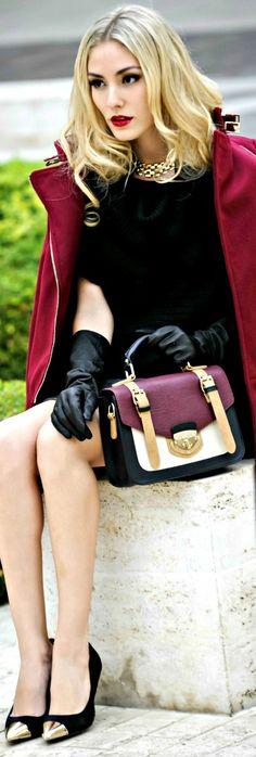 Luxury Fashion  / street / style / blonde / models ✔BWC
