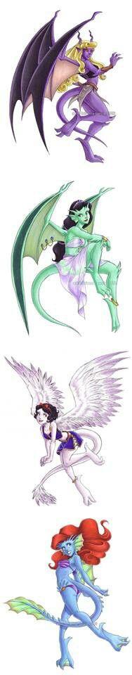 Gargoyl Princesses!