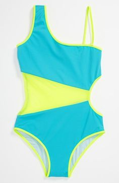 To The 9's One Piece Swimsuit (Big Girls) available at #Nordstrom