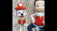DIY- Fran aulas - bombeiro - patrulha canina- biscuit