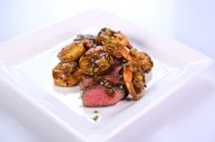 Clinton Kelly's Steak and Shrimp Duo - Just saw them make this on The Chew, and can't wait to try... Looks delish !...