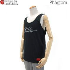 PHANTOM ( ファントム )/ タンクトップ - BASIC LOGO TANK TOP ( BLACK )
