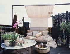 balkon - Sonnensegel