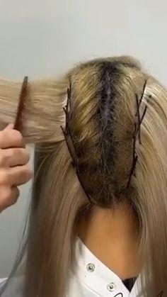 Hairdo For Long Hair, Bun Hairstyles For Long Hair, Front Hair Styles, Medium Hair Styles, Hair Tutorials For Medium Hair, Hair Upstyles, Wedding Hair Inspiration, Hair Videos, Hair Looks