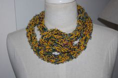 Hand knittedd Winter Necklace or a neck warmer