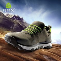 Sneakers Sports & Entertainment 100% Quality Rax Mens Leather Breathable Outdoor Hiking Shoes Trial Trekking Backpacking Climbing Shoes Mountainering Shoes For Men