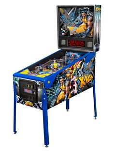 X-Men Get Their Own New Pinball Machine. I WANT THIS!!