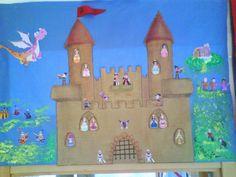 La seño Mariló y sus niños: PROYECTO: LA EDAD MEDIA Fairy Tales Unit, Cardboard Castle, Middle Ages, Techno, Gingerbread, Reception, Classroom, Blog, Painting