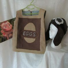 Eggs From The Boxtrolls Fully Lined Costume by EraOfMakeBelieve, $85.00