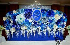 wedding paper flowers wall - Buscar con Google