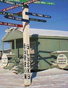 Ultima Thule: Barrow, Alaska - historic landmark, last frontier, western ultima thule