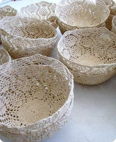 Crochet Bowls - Moonbasket Designs - homeandleisure za