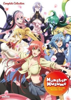 Monster Musume: Everyday Life with Monster Girls - Complete Collection [DVD]