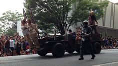 Vehicles Of The 2013 DragonCon Parade - Photo Dump