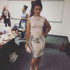 Latina mami muy caliente! Yanura is bringing in jlo vibes! #latina #mami #caliente #chic #sexy #temple #model #newbie #backstage #beautiful #fabulous #zurifab #fashion #fashionblogger #styleblogger #style